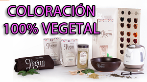 Coloración Profesional 100 % Vegetal y Orgánica